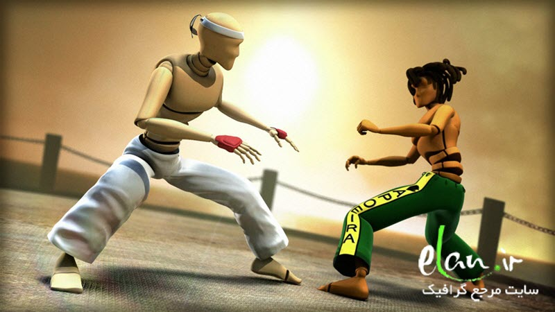 Digital‐Tutors ‐ Animating an Acrobatic Fight Scene in Maya
