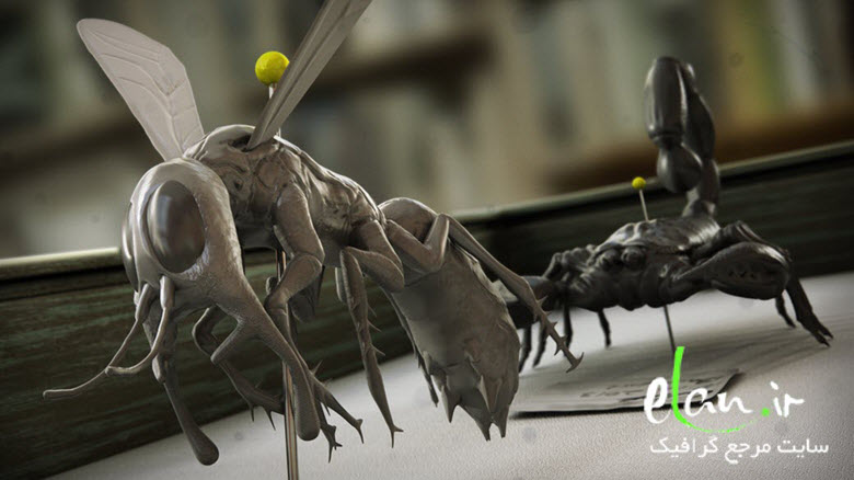 Realistic Insect Sculpting Techniques in ZBrush
