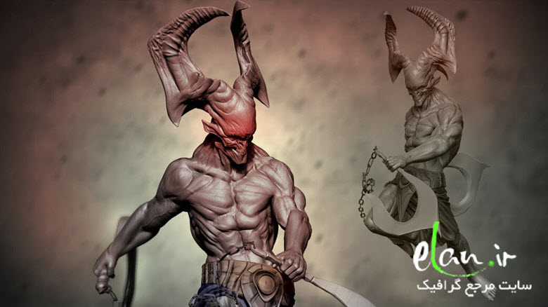 Sculpting a Demonic Creature in ZBrush